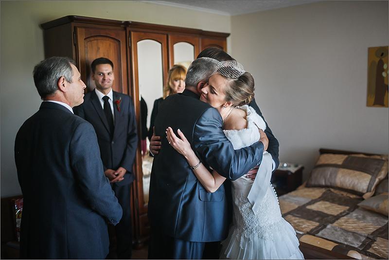 Fotografia ślubna i weselna przygotowania rodzica