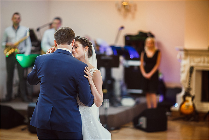 Fotografia ślubna Kraków pierwszy taniec