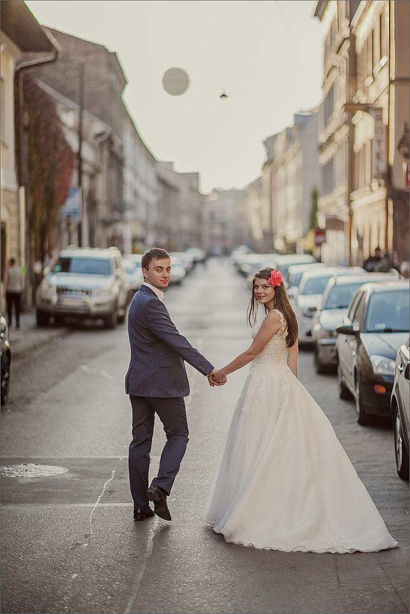 Sesja ślubna Kraków plener