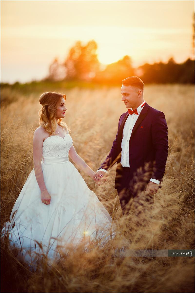 Fotograf na sesje ślubna w plenerze