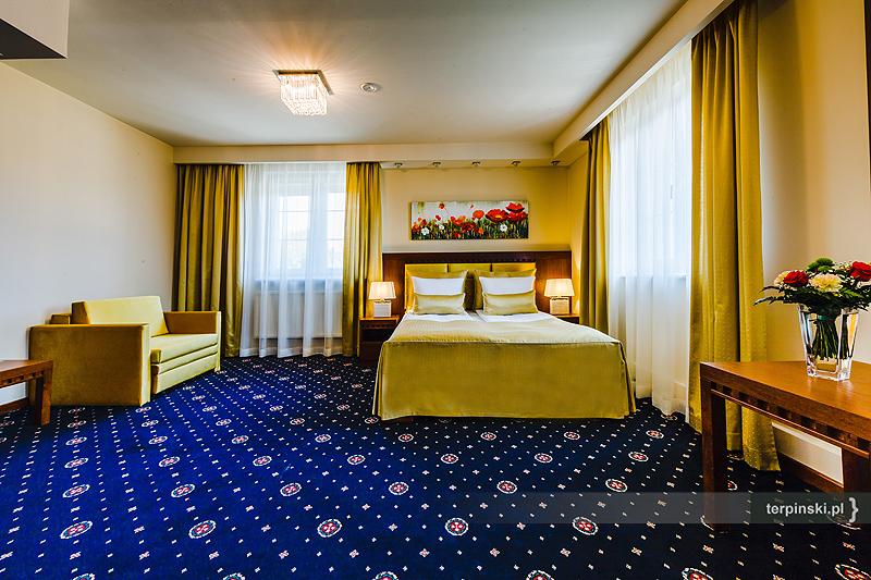 Sesja zdjęciowa wnętrza hotelu pokoje