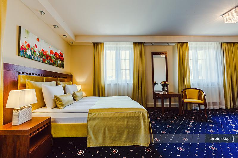 Fotografia wnętrza hotelu pokój