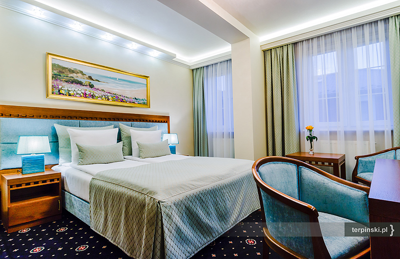 Fotografia reklamowa wnętrza hotelu