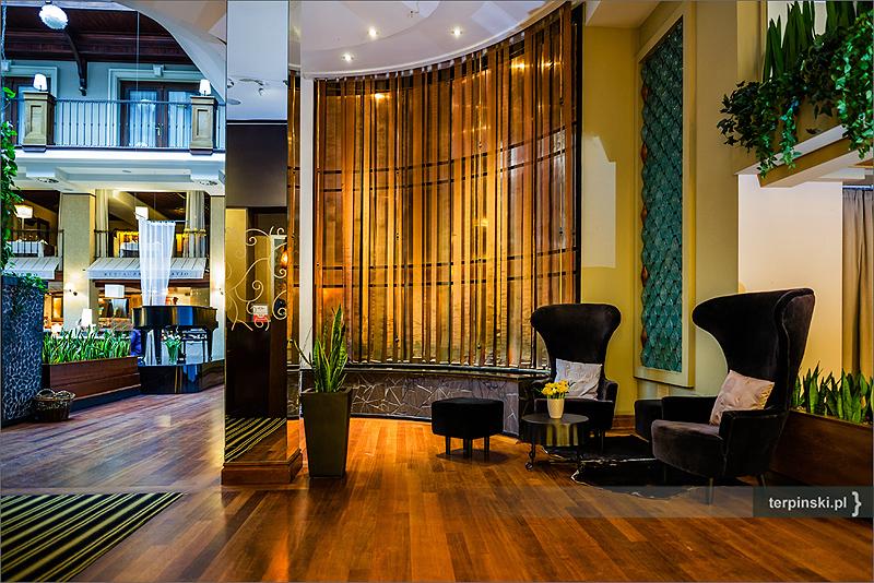 Sesje biznesowe hotele wnętrza lobby