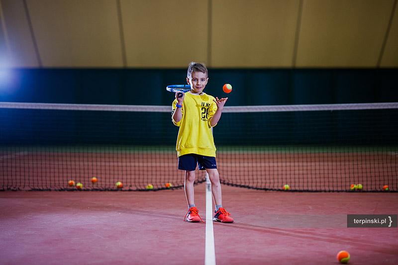 Fotografia biznesowa i reklamowa tenisista