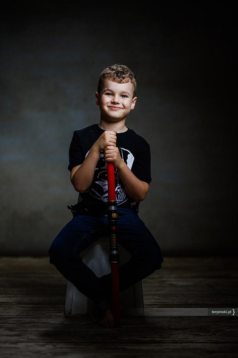 Portret Dziecka na zdjęciu