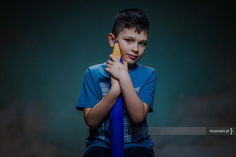 Fotografia dziecięca portret dziecka