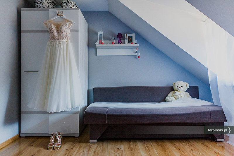 Zdjęcia ślubne suknia ślubna