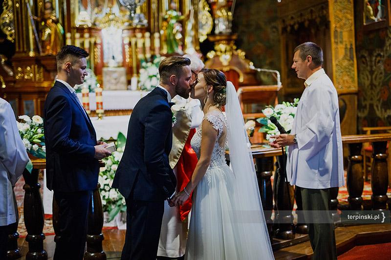 Sesja ślubna ceremonia
