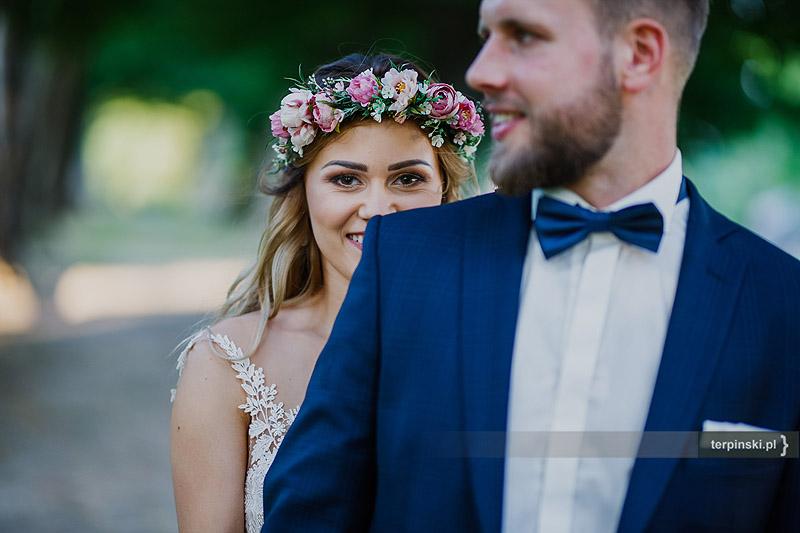 Zdjęcia ślubne para młoda