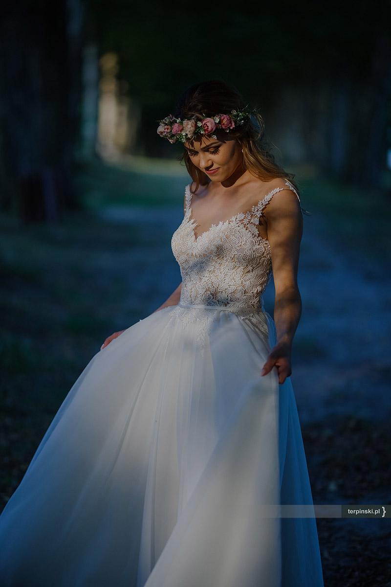 Zdjęcia ślubne pani młoda