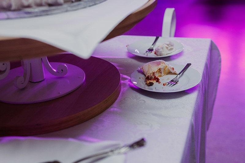 Fotografia Ślubna tort