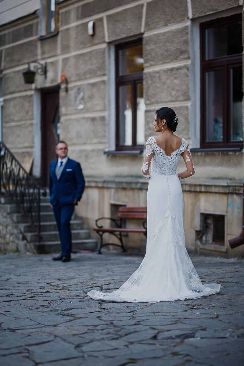 Zdjęcia Ślubne plener suknia ślubna