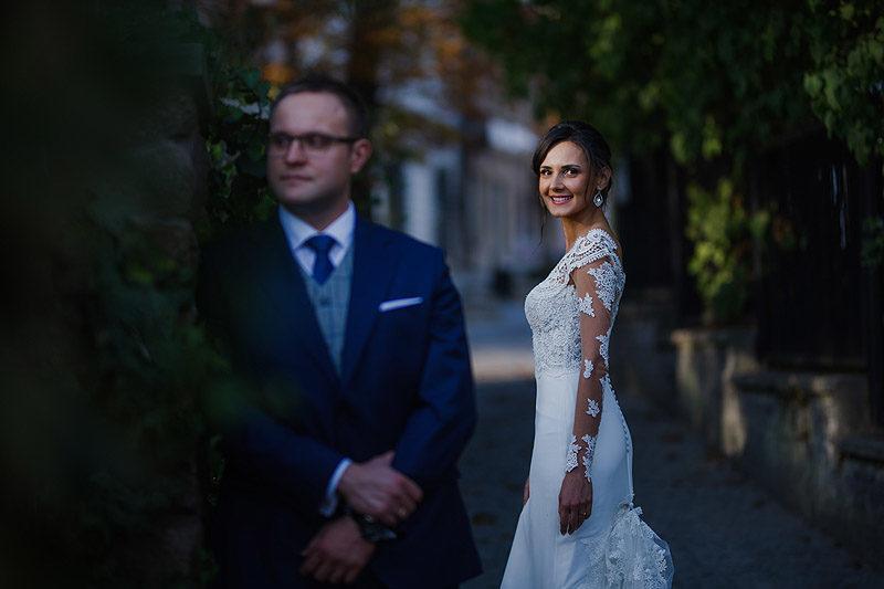 Zdjęcia Ślubne plener para młoda