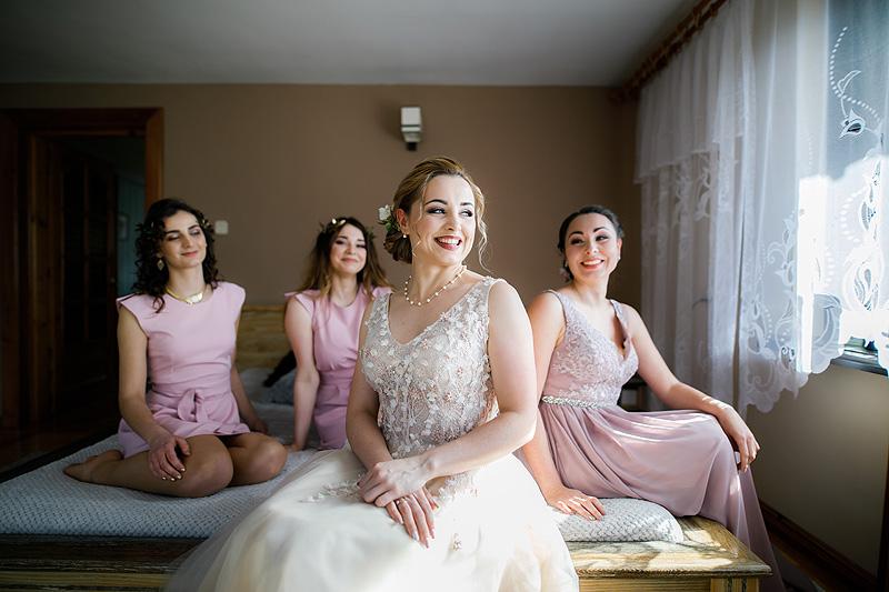 Fotografia ślubna panna młoda szczegóły