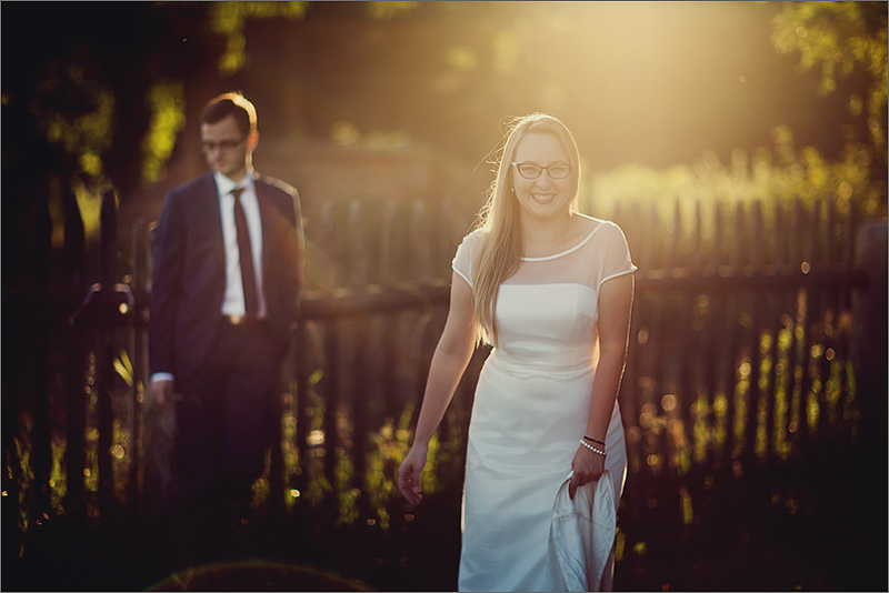 Zdjęcia ślubne Rzeszów słońce