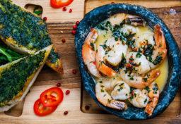 Fotografia żywności Rzeszów krewetki