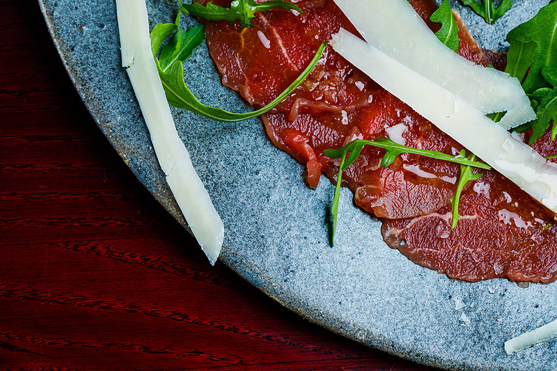 Sesja zdjęciowa jedzenie tatar