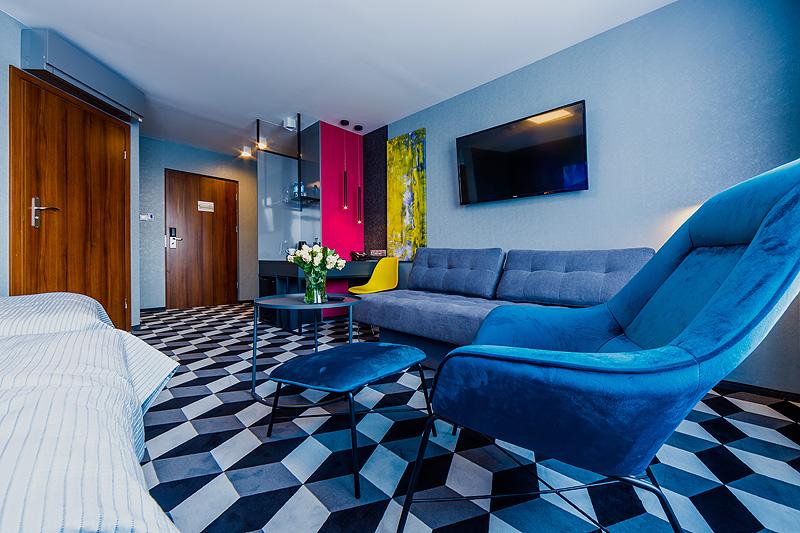 Zdjęcia komercyjne wnętrz Zdjęcia hotelu wnętrza pokój