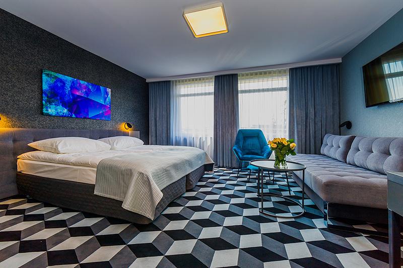 Zdjęcia hotelu wnętrza pokój apartament dwuosobowy