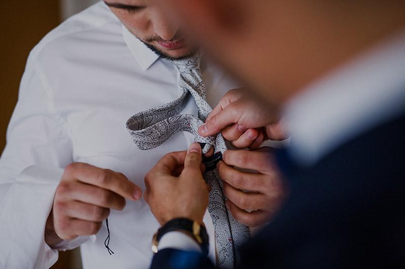 Fotograf ślubny przygotowania