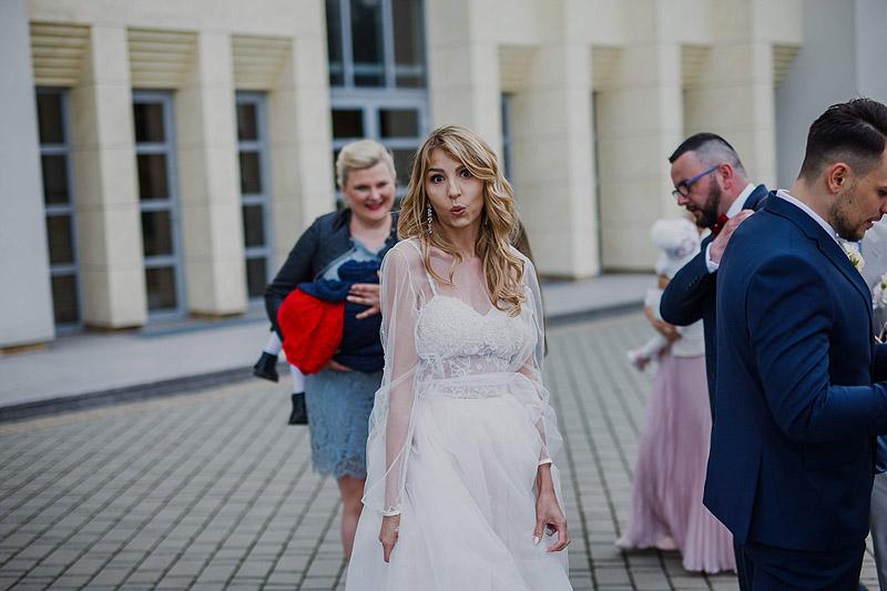 reportaż ślubny życzenia kościół
