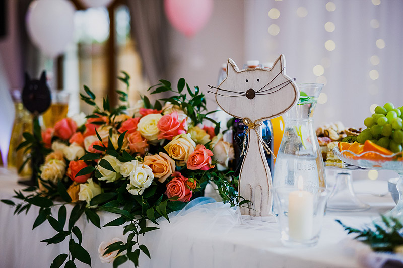 Fotografia weselna dekoracje
