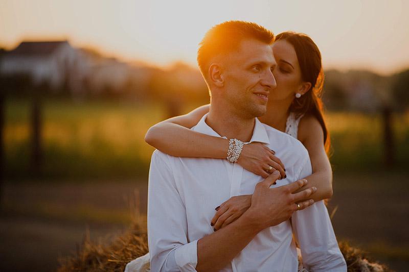 Plener ślubny w obiektywie Rzeszów słonecznie