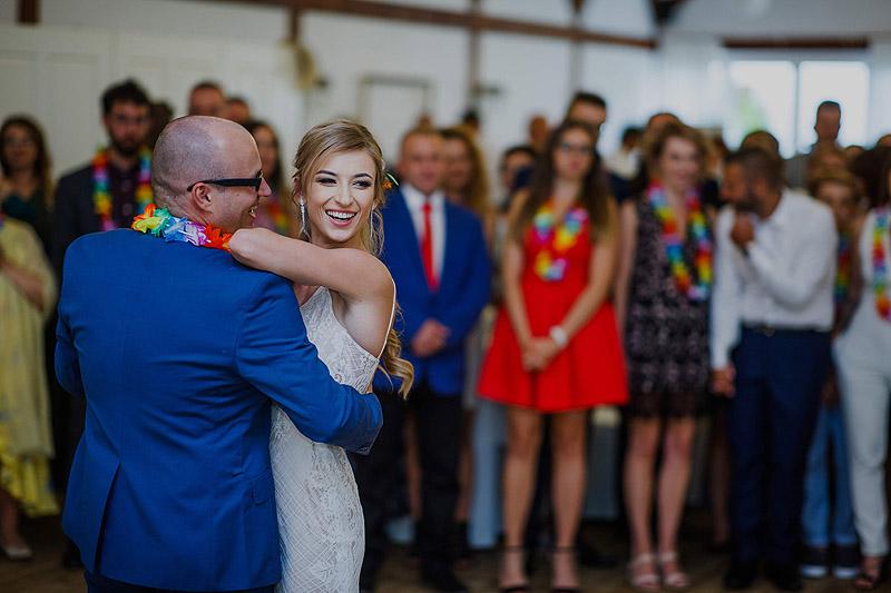 Zdjęcia weselne i ślubne pierwszy taniec