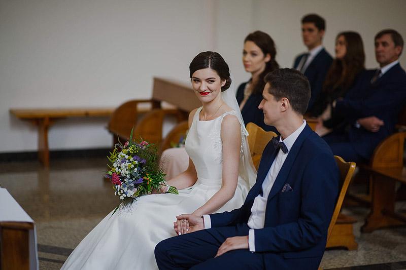Fotografia ślubna w kościele
