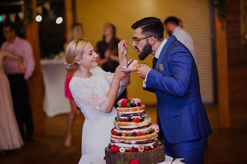 Tort weselny i ślubny