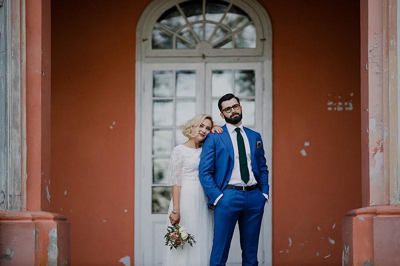 Sesja weselna w plenerze