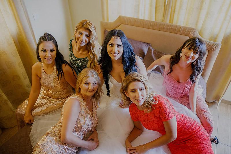 Fotoreportaż ślubny Cypr przygotowania