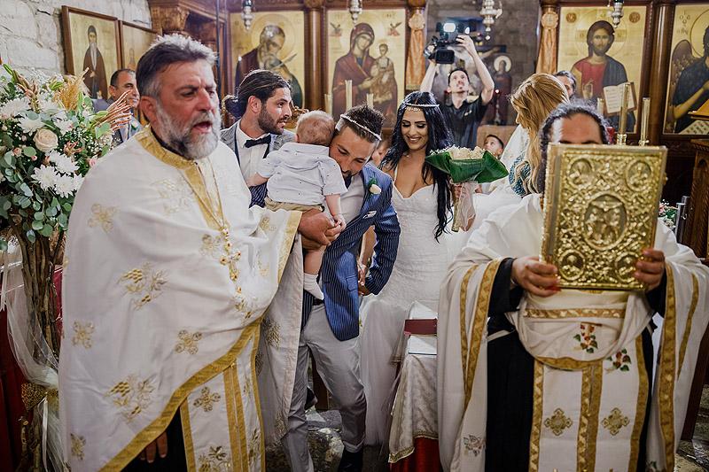 Fotoreportaż ślubny Cypr ceremonia
