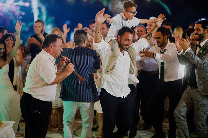 Zdjęcia ślubne zabawa Cypr Grecja