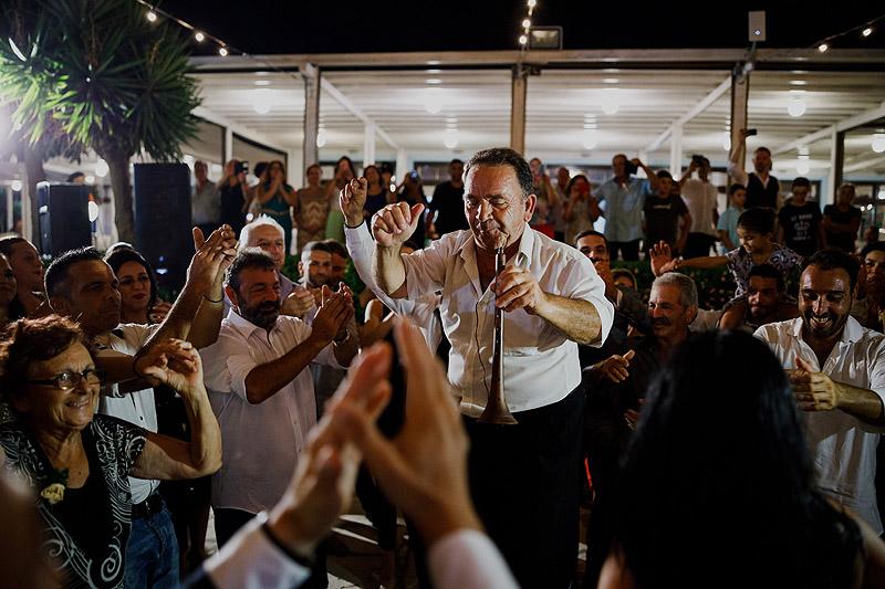 Fotoreportaż ślubny zabawa Cypr Grecja