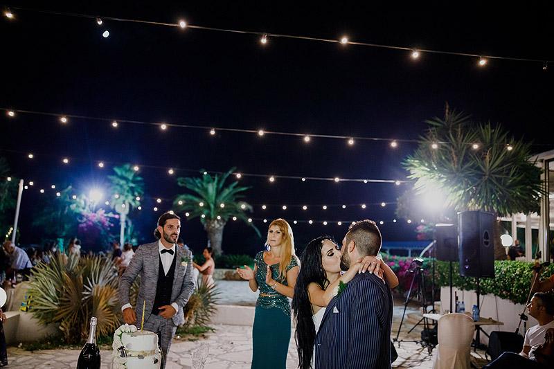 Zdjęcia ślubne zabawa Cypr Grecja pierwszy taniec