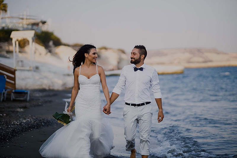 Fotoreportaż ślubny Cypr ślubnie