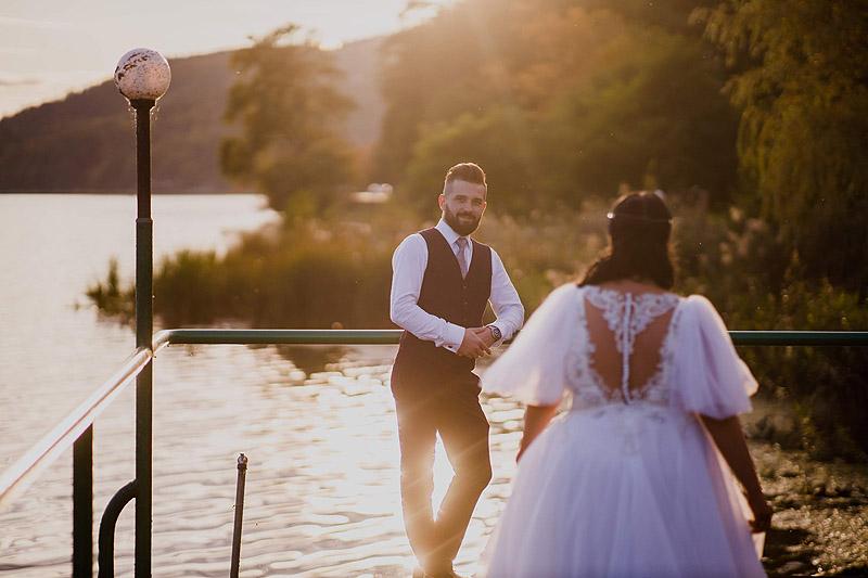 Reportaże ślubne plener